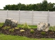 click for post and panel fencing