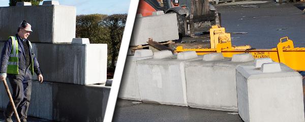 Retaining Wall Blocks stacked