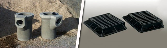 KPC Drainage Gullies and Lids