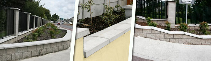 Precast Concrete Wall Coping Wall Capping Wall Caps