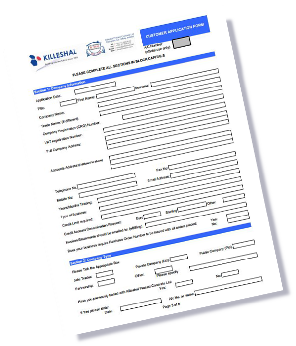credit application form kpc uk