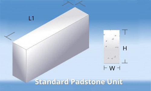 Padstones For Concrete Support Kpc Uk