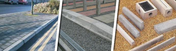 KPC Concrete Drainage Kerbs