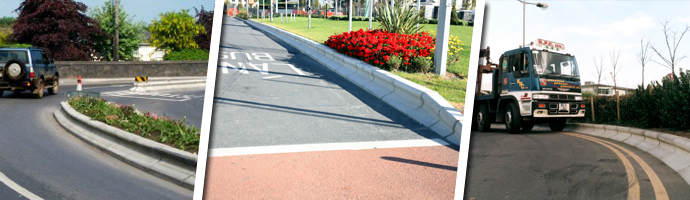 Traffic Management Kerbs High Containment Kerbs Kpc Uk