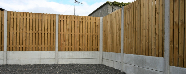 Post And Panel Fencing Quick Build Privacy Kpc Uk