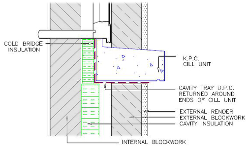 Eco House Builds With Gfrp Wall Ties From Kpc Kpc Uk