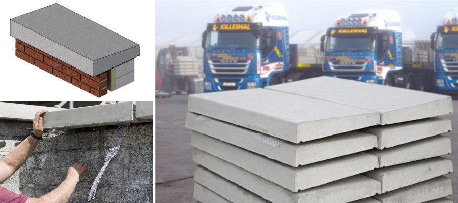 Precast Wall Coping : Killeshal precast concrete suppliers experts in
