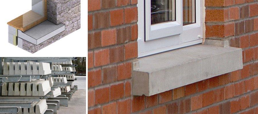 Precast Concrete Window Sills
