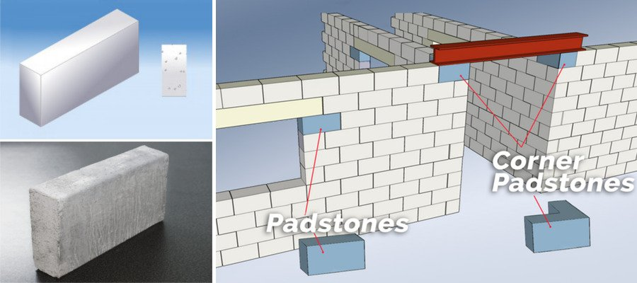 Precast Concrete Padstones
