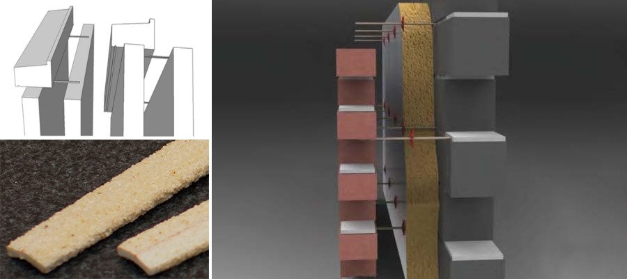 GFRP Wall Ties and Sill Supports