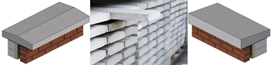 Wide Range of Wall Coping