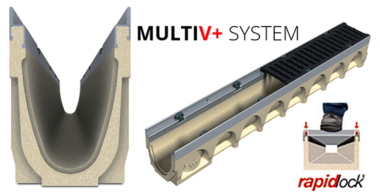 channel drainage systems MultiV