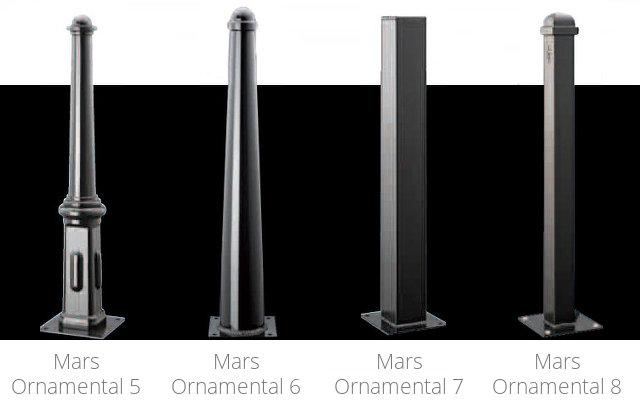 Mars Ornamental Steel Bollards 2